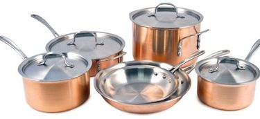 Calphalon 10-piece Copper cookware Set