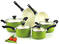 Cook-N-Home Ceramic Cookware Set