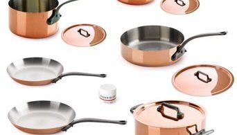 Mauviel copper cookware