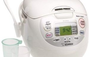 Zojirushi Neuro Fuzzy Rice Cooker NS-ZCC10