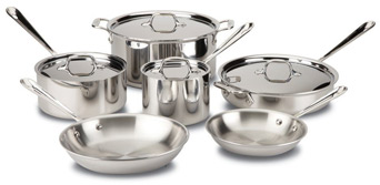 All clad cookware set